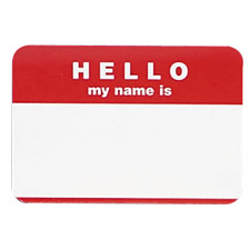 Name Sticker
