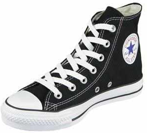 Black converse sneaks