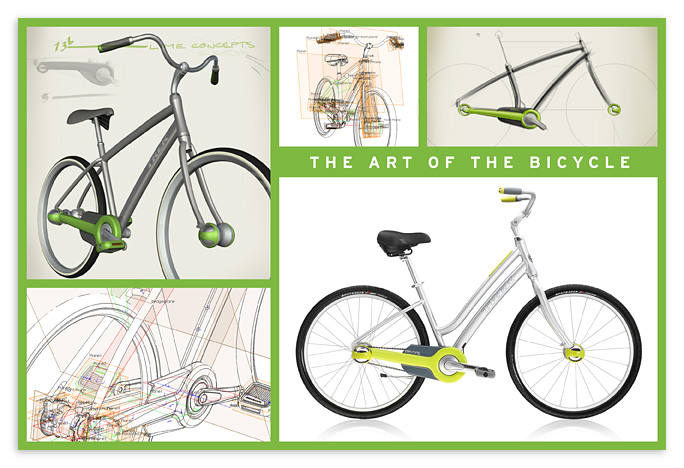 Lime Life :  bicycle bike lime trek